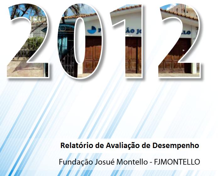 Relatório de Desempenho 2012